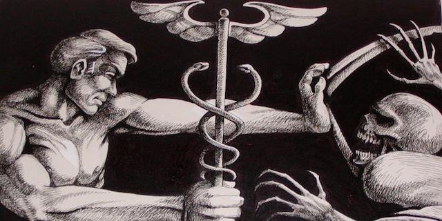 Врачу разрешается умереть